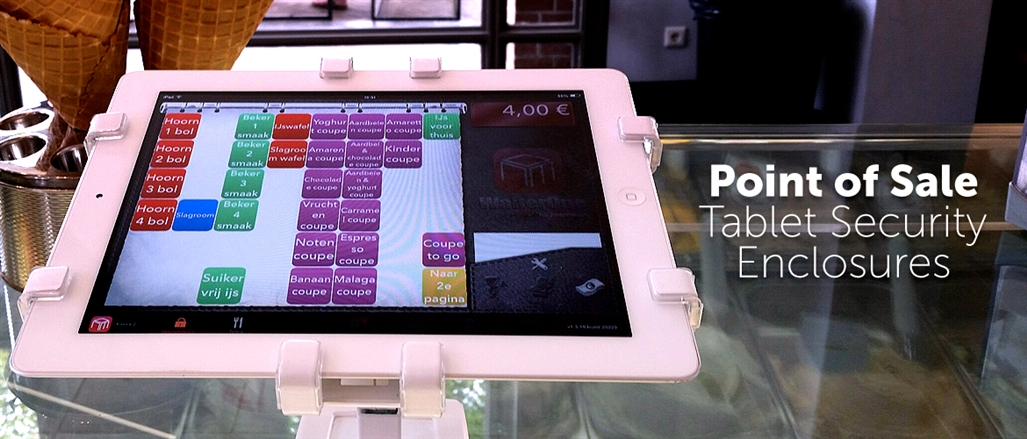 point of sale tablet security enclosures
